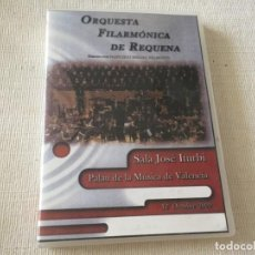 Video e DVD Musicali: DVD ORQUESTA FILARMONICA DE REQUENA PALAU DE LA MUSICA DE VALENCIA FRANCISCO MELERO OSCAR NAVARRO. Lote 215137712