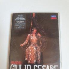 Vídeos y DVD Musicales: GIULIO CESARE, DIRECTOR BY PETER SELLARS, OPERA, COMO NUEVO 2 DVD.. Lote 215411147
