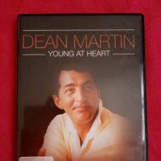 Vídeos y DVD Musicales: DVD MÚSICA. DEAN MARTIN. YOUNG AT HEART. 24 CANCIONES. MEDLEY, BLUE MOON, HOUSTON... Lote 215880887