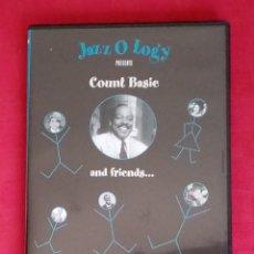Vídeos y DVD Musicales: DVD MÚSICA 20. JAZZ O LOGY: COUNT BASIE AND FRIENDS. INCLUYE A MUCHOS ARTISTAS DE LA ERA DEL SWING... Lote 215890310