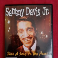Vídeos y DVD Musicales: DVD MÚSICA. SAMMY DAVIS JR. WITH A SONG IN MY HEART.. Lote 215893063