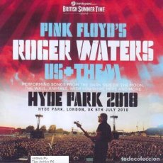 Vídeos y DVD Musicales: ROGER WATERS - HYDE PARK, LONDON - 6TH JULY, 2018 (DVD). Lote 235709670
