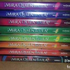 Vídeos y DVD Musicales: MIRA QUIÉN BAILA. 8 DVD PRECINTADOS. Lote 217002681