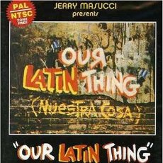 Vídeos y DVD Musicales: FANIA ALL-STARS OUR LATIN THING (NUESTRA COSA) DVD. Lote 233076810