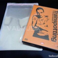 Vídeos e DVD Musicais: 100 FUNDAS DVD CON AUTOCIERRE ADHESIVO TIPO CRISTAL PARA PROTEGER EL ESTUCHE | ENVÍO A DOMICILIO. Lote 266474008