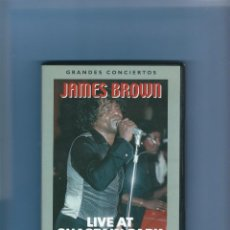 Vídeos y DVD Musicales: DVD MUSICAL - JAMES BROWN - LIVE AT CHASTIAN PARK. Lote 217466401