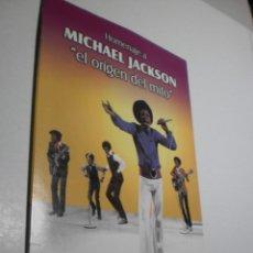 Vídeos y DVD Musicales: DVD HOMENAJE A MICHAEL JACKSON. EL ORIGEN DEL MITO. 37,27 MIN CAJA CARTÓN (SEMINUEVO). Lote 217618337