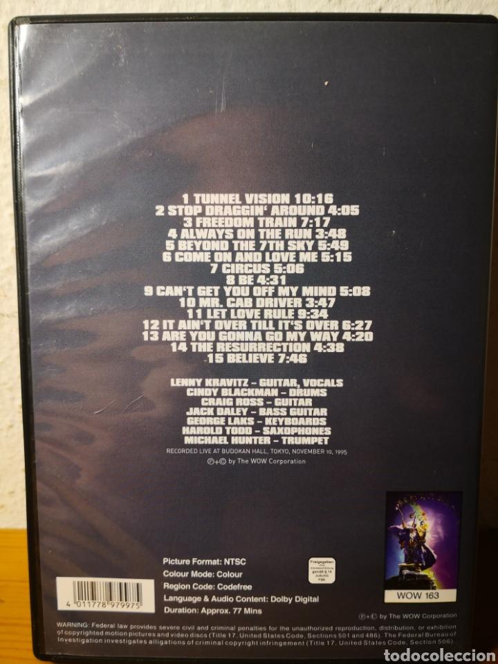 Vídeos y DVD Musicales: LENNY KRAVITZ - LIVE AT BUDLKAN, TOKYO 1995 - DVD RARO! - Foto 2 - 217960110