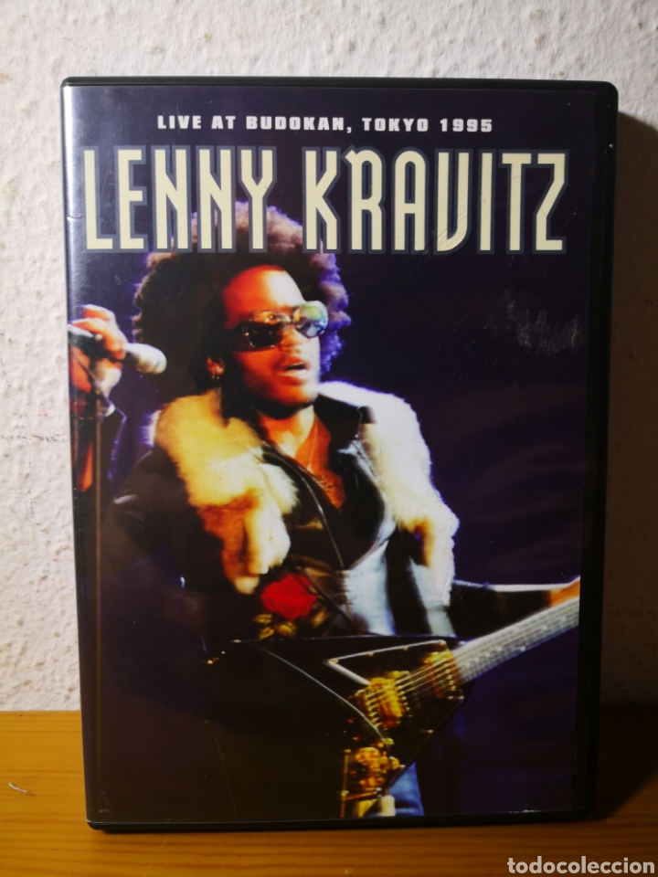 LENNY KRAVITZ - LIVE AT BUDLKAN, TOKYO 1995 - DVD RARO! (Música - Videos y DVD Musicales)