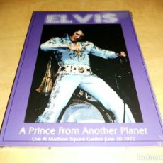 Vídeos y DVD Musicales: ELVIS PRESLEY DVD DIGIPACK,A PRINCE FROM ANOTHER (NEW YORK 1972)2000-ROCK'N'ROLL. Lote 218254132