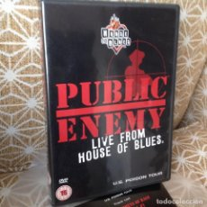 Vídeos y DVD Musicales: PUBLIC ENEMY - LIVE FROM HOUSE OF BLUES -DVD . HIP HOP. Lote 218492016