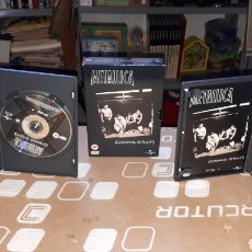 Vídeos y DVD Musicales: DOBLE DVD METALLICA CUNNING STUNTS LIVE TEXAS COMPLETO. Lote 218868011
