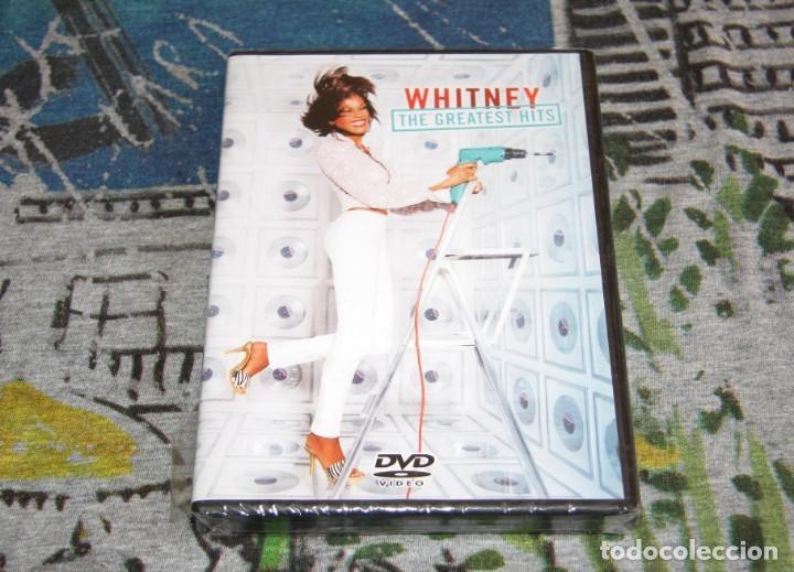 WHITNEY HOUSTON - THE GREATEST HITS + SPECIAL FEATURES - SONY / BMG - NUEVO Y PRECINTADO - DVD (Música - Videos y DVD Musicales)