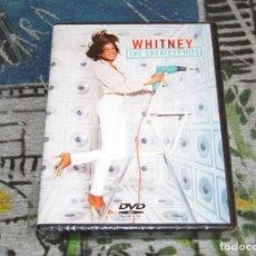 Vídeos y DVD Musicales: WHITNEY HOUSTON - THE GREATEST HITS + SPECIAL FEATURES - SONY / BMG - NUEVO Y PRECINTADO - DVD. Lote 49027308