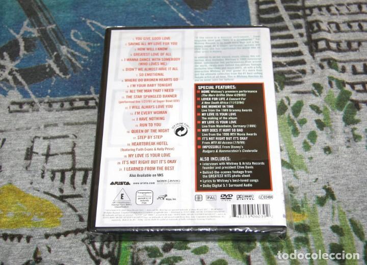 Vídeos y DVD Musicales: Whitney Houston - The Greatest Hits + Special Features - SONY / BMG - NUEVO y PRECINTADO - DVD - Foto 2 - 49027308