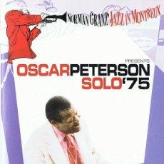 Vídeos y DVD Musicales: OSCAR PETERSON SOLO´75 NORMAN GRANZ ´JAZZ DE MONTREAUX. Lote 218951140