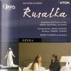 Vídeos y DVD Musicales: RUSALKA ANTONIN DVORÁK. Lote 218951840