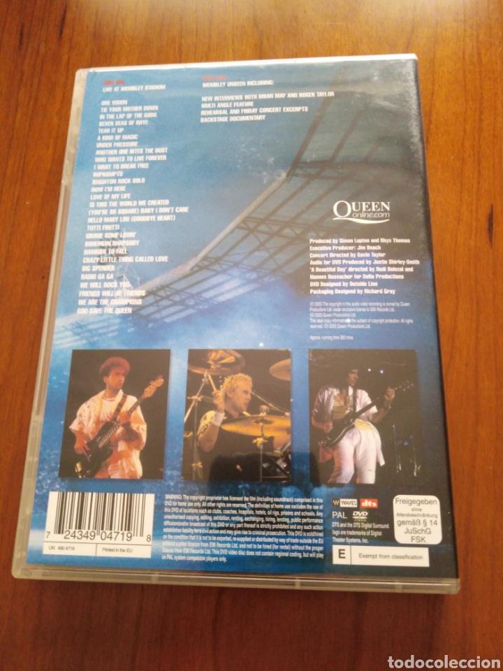 Vídeos y DVD Musicales: Queen - Live at Wembley Stadium - 2 Dvds - Foto 2 - 218971507
