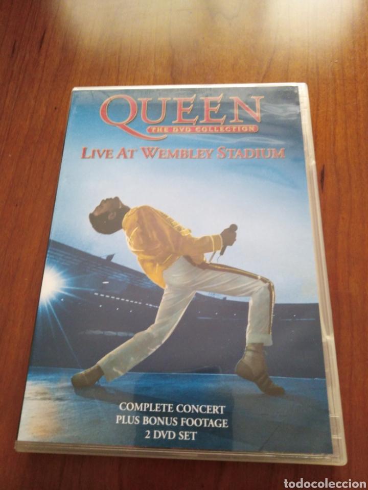 QUEEN - LIVE AT WEMBLEY STADIUM - 2 DVDS (Música - Videos y DVD Musicales)