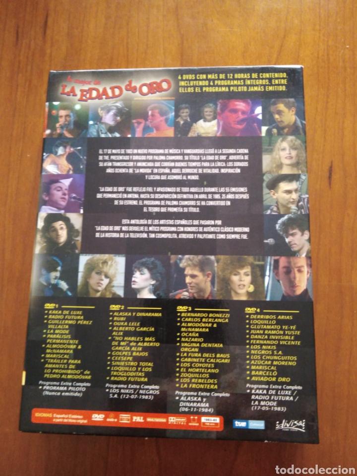 Vídeos y DVD Musicales: Lo mejor de la edad de oro - 4 DVDs - - Foto 2 - 218972288