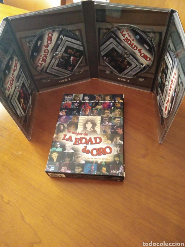 Vídeos y DVD Musicales: Lo mejor de la edad de oro - 4 DVDs - - Foto 4 - 218972288