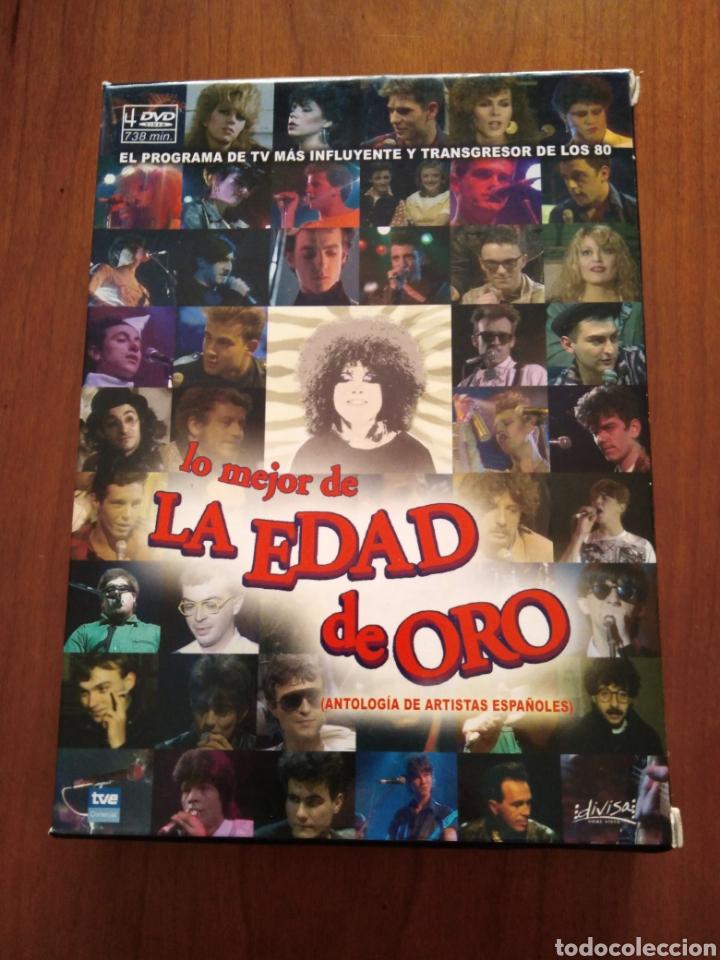 LO MEJOR DE LA EDAD DE ORO - 4 DVDS - (Música - Videos y DVD Musicales)