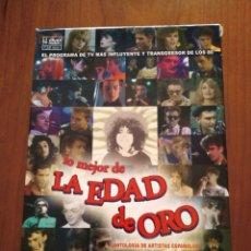Vídeos y DVD Musicales: LO MEJOR DE LA EDAD DE ORO - 4 DVDS -. Lote 218972288