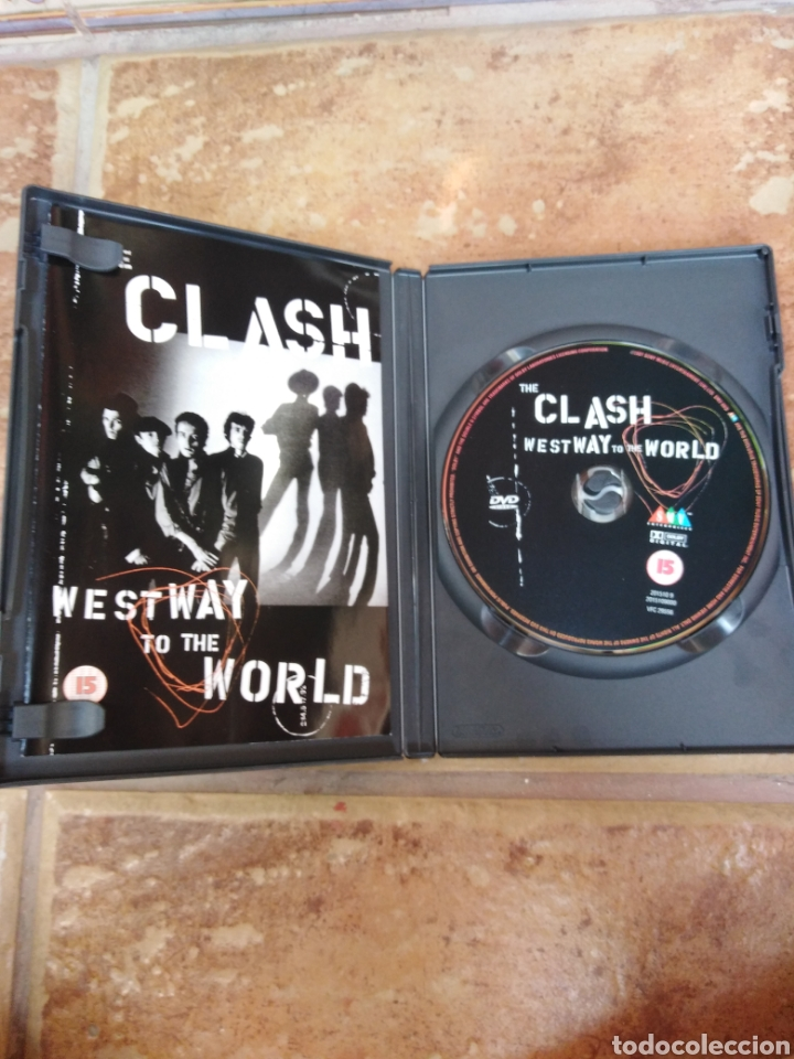 Vídeos y DVD Musicales: THE CLASH-WEST WAY TO THE WORLD - Foto 2 - 218975981