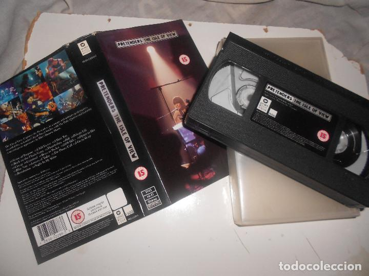 VHS PRETENDERS THE ISLE OF VIEW 1993 ACÚSTICO EN DIRECTO, WARNER, 70 MIN, DOLBY, NEW WAVE (Música - Videos y DVD Musicales)