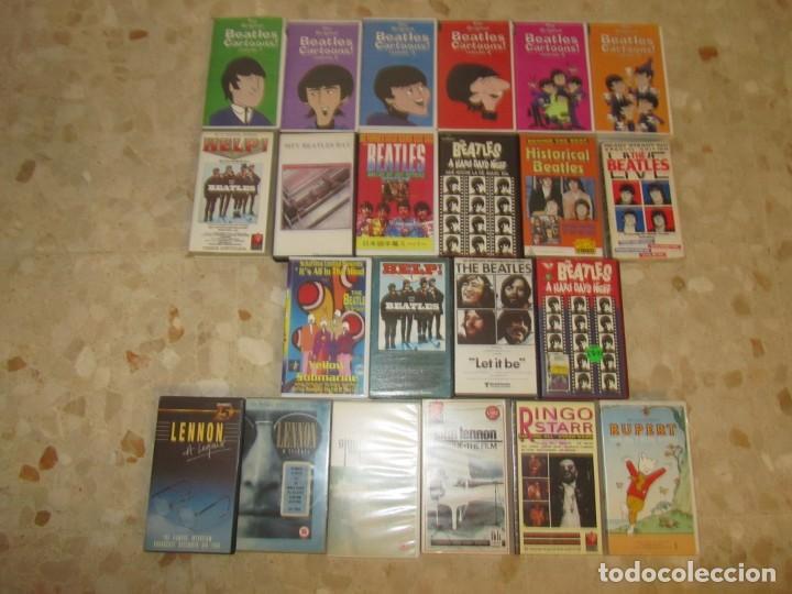 THE BEATLES LOTE DE VIDEOS VHS PARA COLECCIONISTA (Música - Videos y DVD Musicales)