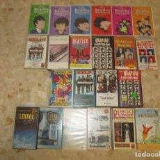 Vídeos y DVD Musicales: THE BEATLES LOTE DE VIDEOS VHS PARA COLECCIONISTA. Lote 218988990