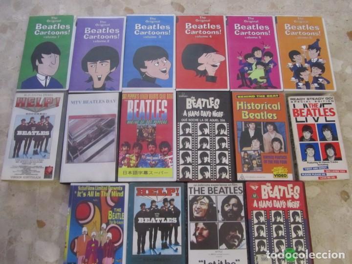 Vídeos y DVD Musicales: THE BEATLES LOTE DE VIDEOS VHS PARA COLECCIONISTA - Foto 2 - 218988990