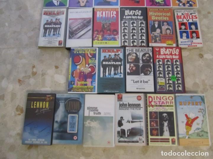 Vídeos y DVD Musicales: THE BEATLES LOTE DE VIDEOS VHS PARA COLECCIONISTA - Foto 3 - 218988990
