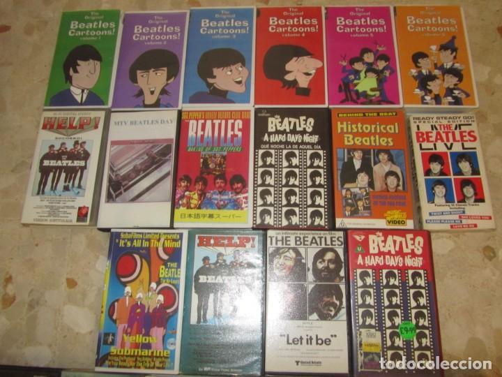 Vídeos y DVD Musicales: THE BEATLES LOTE DE VIDEOS VHS PARA COLECCIONISTA - Foto 4 - 218988990