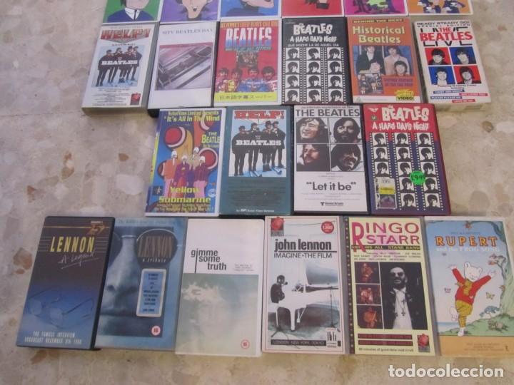 Vídeos y DVD Musicales: THE BEATLES LOTE DE VIDEOS VHS PARA COLECCIONISTA - Foto 5 - 218988990