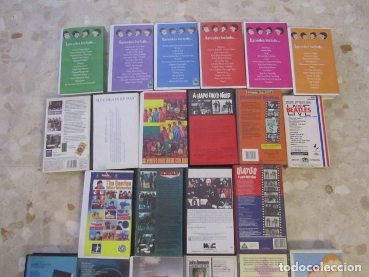 Vídeos y DVD Musicales: THE BEATLES LOTE DE VIDEOS VHS PARA COLECCIONISTA - Foto 7 - 218988990
