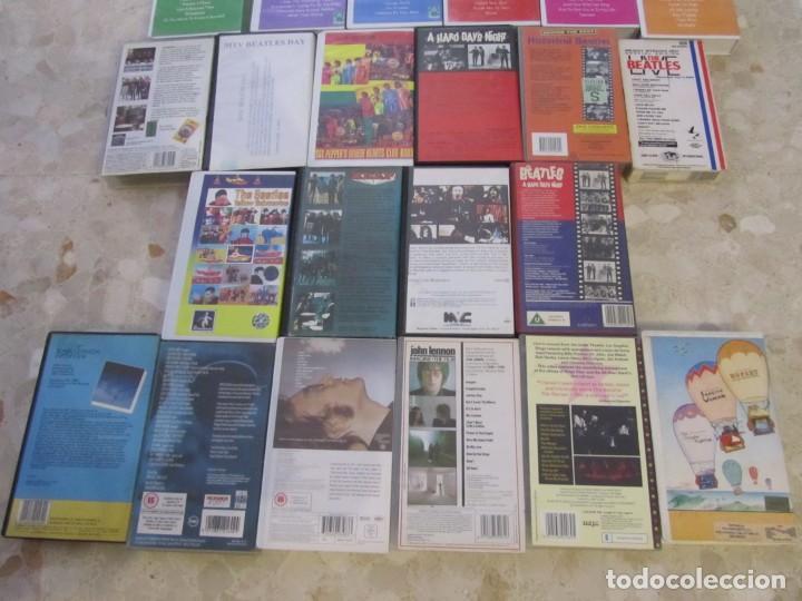 Vídeos y DVD Musicales: THE BEATLES LOTE DE VIDEOS VHS PARA COLECCIONISTA - Foto 8 - 218988990