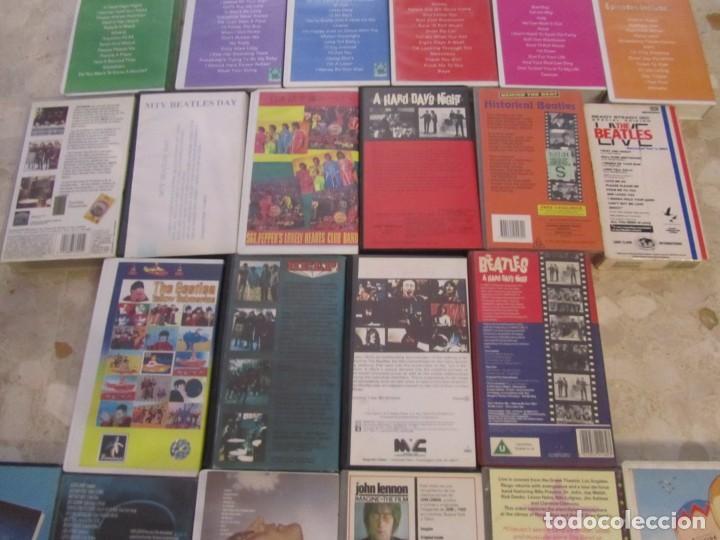 Vídeos y DVD Musicales: THE BEATLES LOTE DE VIDEOS VHS PARA COLECCIONISTA - Foto 9 - 218988990