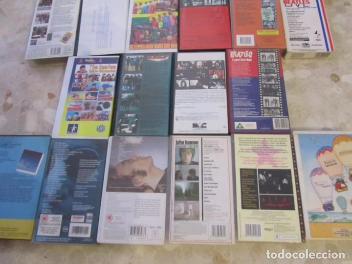 Vídeos y DVD Musicales: THE BEATLES LOTE DE VIDEOS VHS PARA COLECCIONISTA - Foto 11 - 218988990
