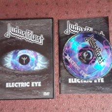 Vídeos y DVD Musicales: JUDAS PRIEST - ELECTRIC EYE - DVD - UK - SMV ENTERPRISE - INCLUYE LIBRITO - L -. Lote 218999405