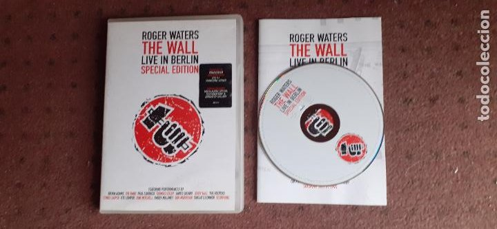 ROGER WATERS - THE WALL LIVE IN BERLIN - DVD - EUROPA - UNIVERSAL - INCLUYE LIBRITO - L (Música - Videos y DVD Musicales)