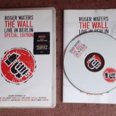 Vídeos y DVD Musicales: ROGER WATERS - THE WALL LIVE IN BERLIN - DVD - EUROPA - UNIVERSAL - INCLUYE LIBRITO - L. Lote 218999660