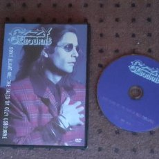 Vídeos y DVD Musicales: OZZY OSBOURNE - DON´T BLAME ME / THE TALESOF OZZY OSBOURNE - DVD - GERMANY - EPIC - L -. Lote 219000200