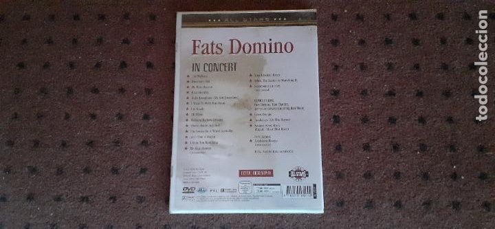 Vídeos y DVD Musicales: FATS DOMINO - BLUEBERRY HILL IN CONCERT - EUROPA - ALL STARS - L - - Foto 2 - 219000450
