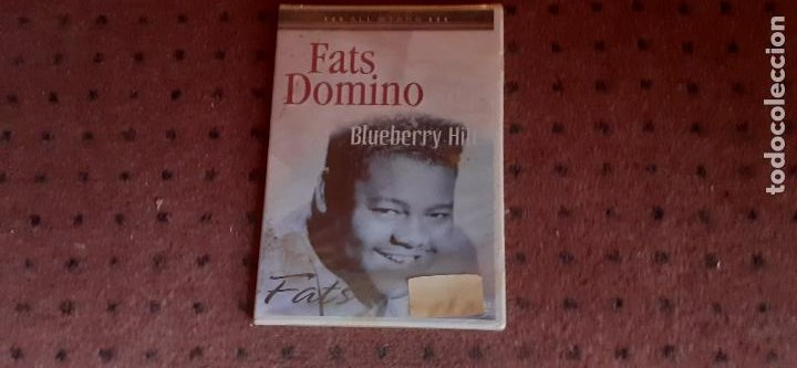 FATS DOMINO - BLUEBERRY HILL IN CONCERT - EUROPA - ALL STARS - L - (Música - Videos y DVD Musicales)
