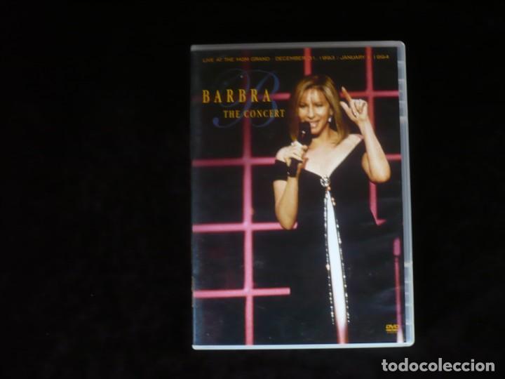 BARBRA THE CONCERT - DVD CASI COMO NUEVO (Música - Videos y DVD Musicales)