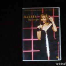 Vídeos y DVD Musicales: BARBRA THE CONCERT - DVD CASI COMO NUEVO. Lote 219015043