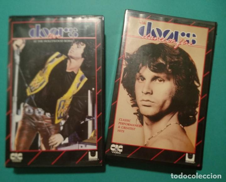 "THE DOORS. ""AT THE HOLLYWOOD BOWL"" + ""CLASSIC PERFORMANCES & GREATEST HITS"" (Música - Videos y DVD Musicales)"