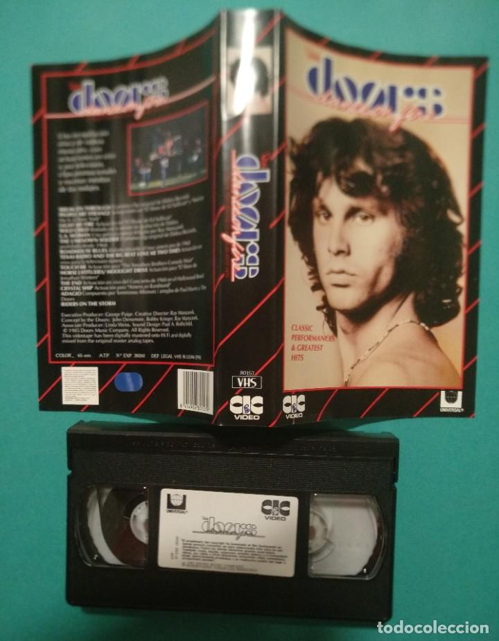 "Vídeos y DVD Musicales: The DOORS. ""At the Hollywood Bowl"" + ""Classic Performances & Greatest Hits"" - Foto 6 - 219030295"