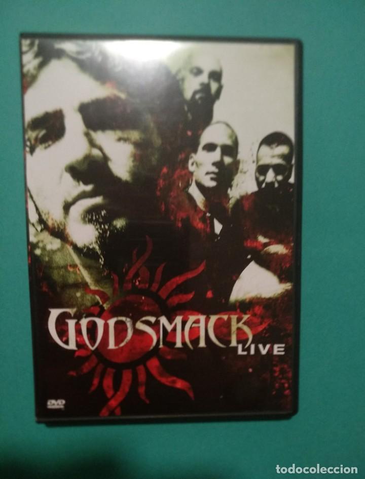 "GODSMACK ""LIVE"" (DVD, 2001) NU METAL, HEAVY METAL, ALTERNATIVE METAL, METAL METAL METAL (Música - Videos y DVD Musicales)"